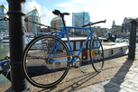 Photo of new Winter fixed-gear bicycle
