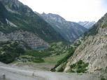 The view from the dam on the Col du Glandon