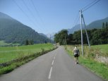 On the road to the Col du Soulor