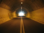 Photo of a road tunnel