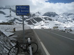Photo from the Passo Bernina summit