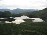 Early evening view over Angle Tarn