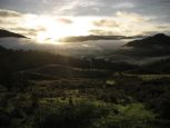 Sunrise from above Glenridding