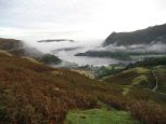 Early morning mist over Glenridding and Ullswater