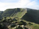 Swirral Edge and Helvellyn from Catstye Cam