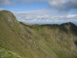 View of Striding Edge from near Nethermost Pike