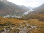 Looking back down to Kinlochleven