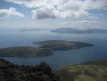 The view west from Sgurr nan Eag