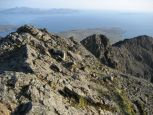 The view south from Sgurr Dearg with Soay in the background
