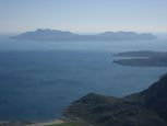 Looking down towards Soay from Bla Bheinn