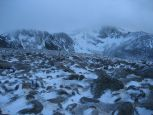 One last look back from Stob Coire an t-Sneachta